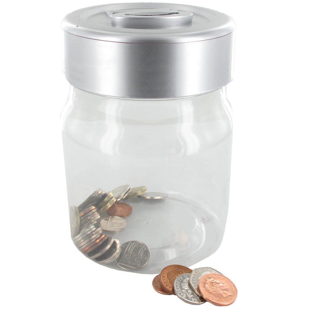 The Source Wholesale Digital Coin Counting Money Jar