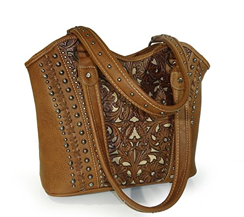 new-tooled-leather-concealed-handgun-shoulder-tote-by-trinity-ranch-brown