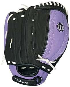 Wilson A440 FP115 Fielder's Throw Fastpitch Glove (Left Hand Glove, 11.5-Inch)
