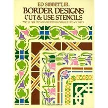 Border Designs Cut & Use Stencils