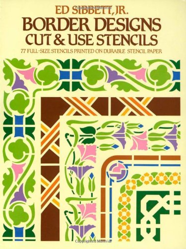 Border Designs Cut & Use Stencils (Dover Stencils) by Dover Publications