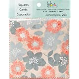 "Fabric Palette Charm Pack 5""X5"" 20/pkg-Marabella Collection 10 Designs/2 Each"