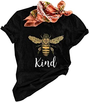 Bee Kind Shirt Motivational Tshirt Kids graphic tee Kindness Shirt In a world where you can be anything paperclutch Kids Be Kind tShirt