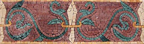 Roman Mosaic Border - Visionary Art