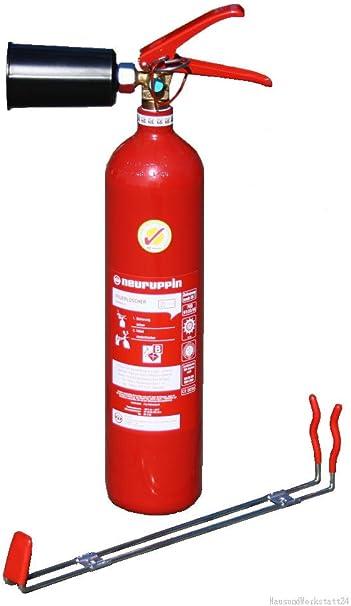 2kg Co2 Kohlendioxid Feuerlöscher Fln Neuruppin Ks 2 Bg Stahl Prüfnachweis Hausundwerkstatt24 Baumarkt
