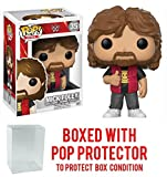 Funko Pop! WWE Mick Foley Vinyl Figure (Bundled with Pop BOX PROTECTOR CASE)