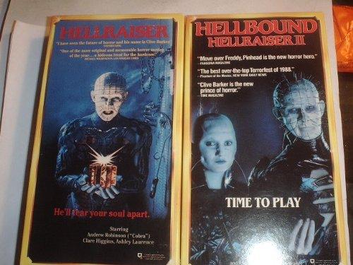 Hellraiser & Hellraiser 2: Hellbound [VHS] (Hellbound Hellraiser Ii compare prices)