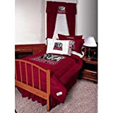 NCAA Polyester Jersey Bedskirt Size: Twin, Team: Alabama Crimson Tide