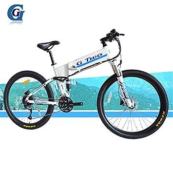 G7S 24 Velocidad, 26 Pulgadas, 48V / 7.8AH, Bicicleta Plegable eléctrica de