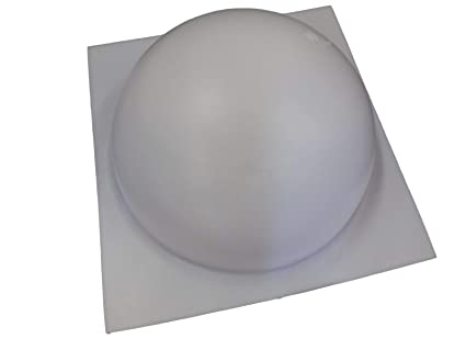 Amazon 12 Inch Half Ball Sphere Concrete or Plaster Mold 7012