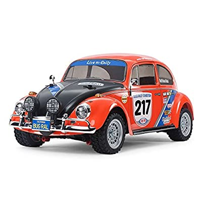 Tamiya America, Inc 1/10 Volkswagen Beetle Rally 4WD MF-01X Kit, TAM58650: Toys & Games