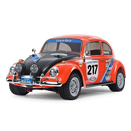- Tamiya America, Inc 1/10 Volkswagen Beetle Rally MF-01X 4WD Kit, TAM58650