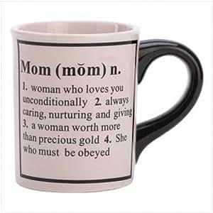 8 Mom Definition Mugs