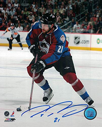 Peter Forsberg Autographed Signed Colorado Avalanche 8x10 Photo Maroon Vert - Certified Authentic