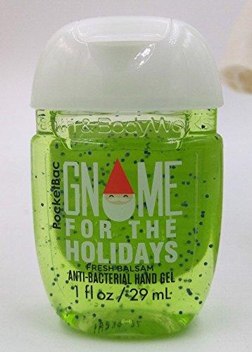 Bath & Body Works PocketBac Hand Gel Gnome For The Holidays Fresh Balsam