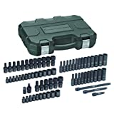 GearWrench 84903 1/4-Inch Drive Impact Socket Set SAE/Metric, 71-Piece
