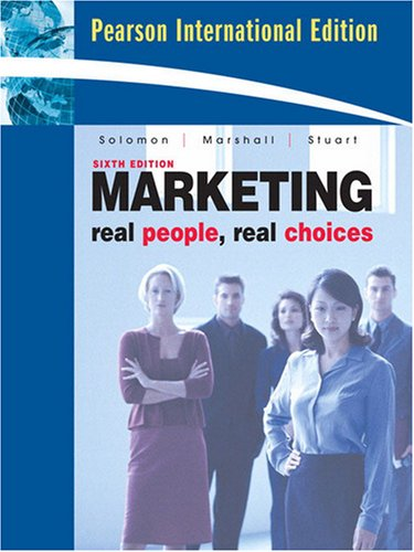 Marketing: Real People, Real Choices (Teacher's Edition)