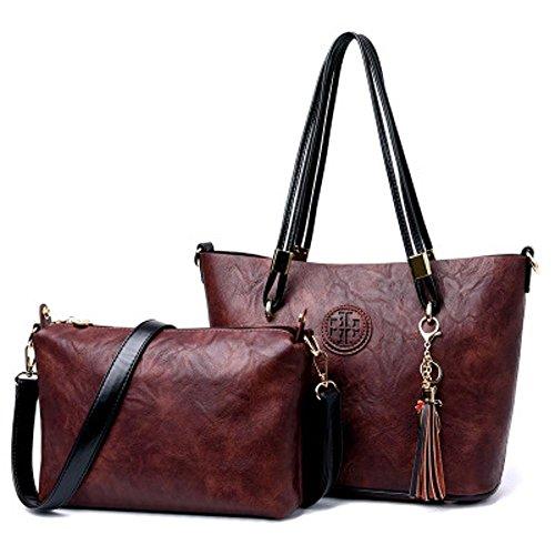 Aoligei Vintage sac à main de romantique Suzi Baotan épaule femme entre deux âges C
