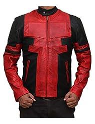 Ryan Reynolds Deadpool Movie Leather Jacket