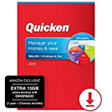 Quicken Deluxe 2019 Personal Finance & Budgeting Software, 1-Year Membership + 2 Bonus Months + 15GB Extra Dropbox - Amazon Exclusive [PC/Mac Online Code]