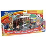 The Bridge Direct Looney Tunes Figure 5 Pack - Bugs Bunny, Lola Bunny, Daffy Duck, Porky Pig and Elmer Fudd by The Bridge Direct