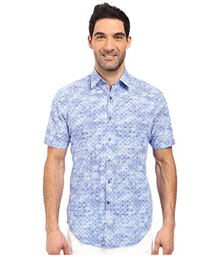 james-campbell-mens-atlas-short-sleeve-woven-blue-button-up-shirt