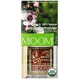 MOOM Moom Organic Hair Removal Kit with Tea Tree Oil 6 Ounce