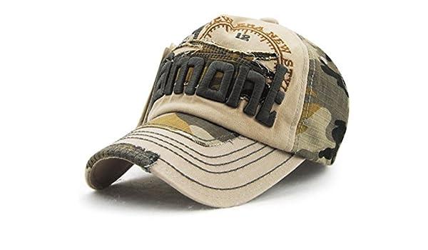 Elwow Mens Distressed Vintage Baseball Cap Snapback Trucker Hat Hiking Hat Sports Baseball Hat