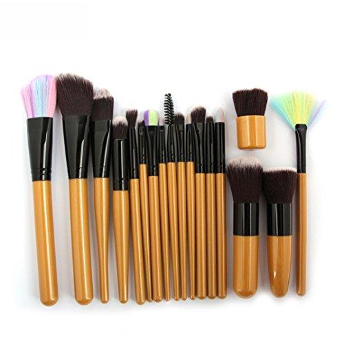 18pcs Cosmetic Makeup Brush Blusher Eye Shadow Brushes Set Kit