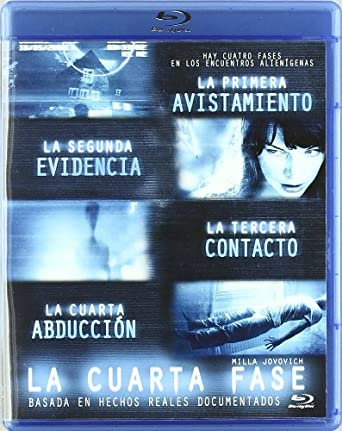 Amazon.com: La Cuarta Fase [Blu-ray] [Import espagnol]: Movies & TV