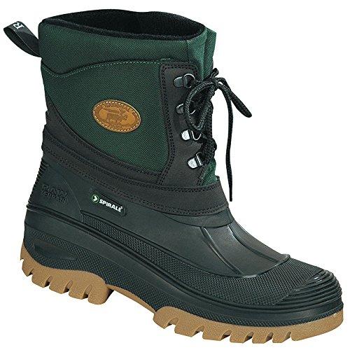 Spirale 41 251 Noir brun 41 581020 Edmonton Doublé Boots 8azn18wqr