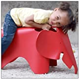 Eames® Elephant by Vitra, Color = Classic Red