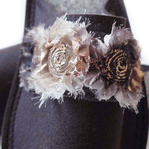 Unisex Größe Fancy Mujer Pantoffeldiva Marrón Estar Zapatillas 42 Roses Para De Lana Por 38 Casa UxqHf7wBx