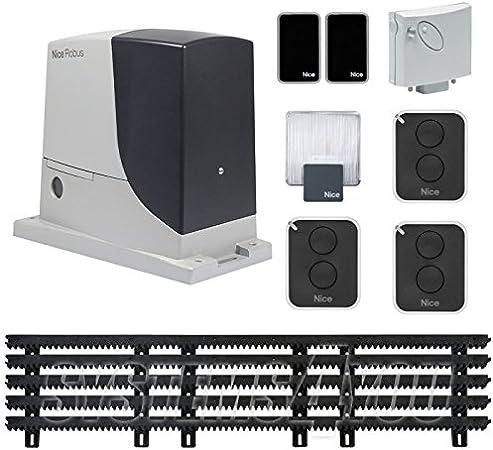 Kit para portadas japonés nice ROBUS 600 con cremaillère 5 m: Amazon.es: Bricolaje y herramientas