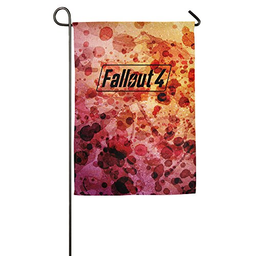 Fallout 4 Logo Country Flag Good Quality Halloween Flags