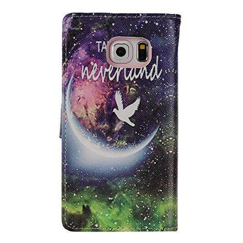 aeeque se, iPhone 5/5S/5C/6/6S (Plus), Samsung Galaxy S3/S4/S5/S6/S6Edge/S6Edge Plus/J5/Note 5/S7/S7edge/G360/G530/i9060, Sony Xperia M4/Z5/Z5mini, Huawei P8Lite elegante dibujo pintura patrón f Starry Sky Fantasy
