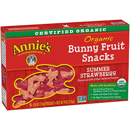 Annies Organic Snacks Strawberry Pouches product image