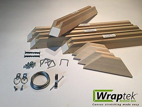 Wraptek Canvas Stretcher Bar Kit (Medium Duty)- 23 Sizes to choose from (54x54) by Wraptek