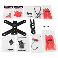 QWinOut 210 KIT RC Racing Drone 210MM Carbon Fiber Frame High Strength Quadcopter Aircraft (Red)