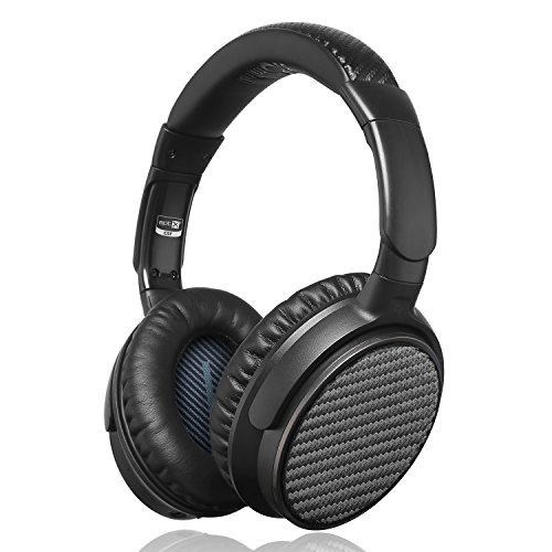 Headphones iDeaUSA Microphones Cancelling Playtime Black product image