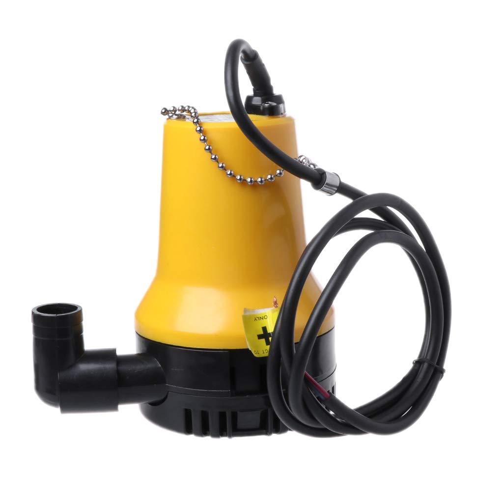12V DC OTGO Mini Bilge Pump Marine Water Aspirator Fountain for Submersible Yacht Boat Silent Water Pump