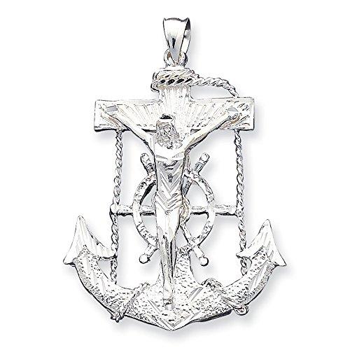 Mariner Pendentif Femme-Croix-Argent 925/1000-JewelryWeb