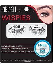 Ardell Fashion Lashes 113, het origineel - wimpers van echt haar, zwart/zwart (zonder wimperlijm) ultralicht, flexibel en herbruikbaar