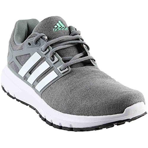 adidas Originals Women's Energy Cloud WTC W Running Shoe, Heather/White/Tech Grey, 8 M US