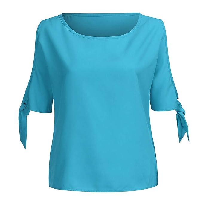 Amazon.com: MURTIAL - Camiseta de manga corta para mujer ...