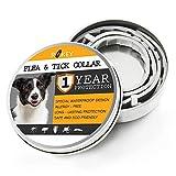ROKEY Dog Flea and Tick Collar - 1 Year Flea Prevention Collar for...