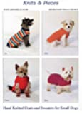 Knits & Pieces Knitting Pattern : Small Dog Coats and Sweaters