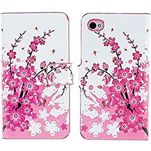 QJM iPhone 4/4S/iPhone 4 compatible Special Design/Novelty Case with Kickstand , Multicolor