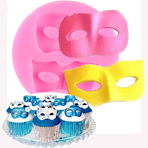 Amazon.com: Outflower Mask Cake Decorating Tools Kitchen Bakeware Chocolate Baking Molds Candy Soap Moulds Random Color: Kitchen & Dining