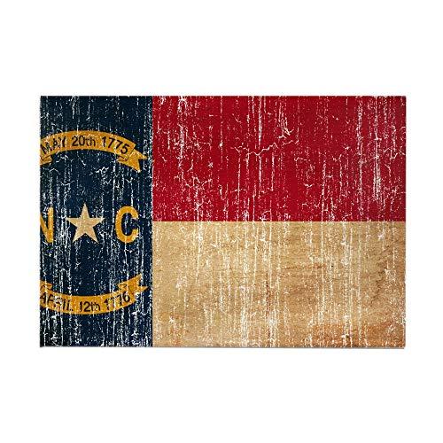 CafePress North Carolina Flag Rectangle Magnet, 2